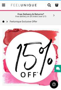 15% Off Feel unique Code SPREE15