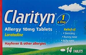 Clarityn 10mg 14 Tablets - £3.74 (Prime) £7.73 (Non Prime) @ Amazon