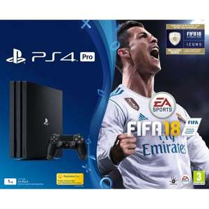 PlayStation 4 pro +doom+fifa 18 or choose 3 games for £369 @ Tesco