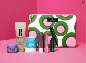 Clinique Offerstack - Free 7 piece Gift when you buy 2 selected Clinique products plus £10 worth of points at Boots