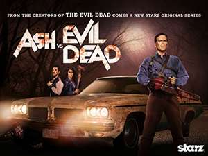 Ash Vs Evil Dead Season 1 on Amazon Video £4.99 and Season 2 on Amazon Video £4.99