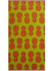 100% cotton beach towel - pineapple print £1.50 was £6 @ Asda