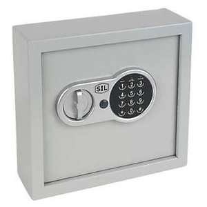 SMITH & LOCKE 30-HOOK ELECTRONIC KEY SAFE £18.99 @ Screwfix