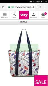 Radley Speckle Canvas Tote Bag £12  VERY - Free Delivery  from a collect + store