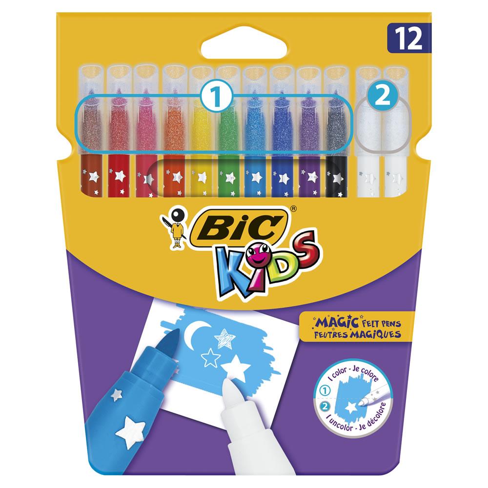 Bic Kids Colour and Erase Felt Pens 12pk £2 Wilko (free c&c)