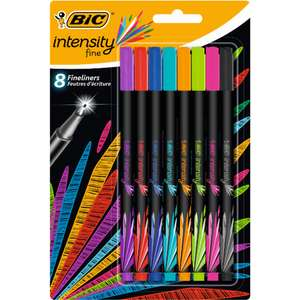 Bic Intensity Felt Pen 8pk 94p @ Wilko