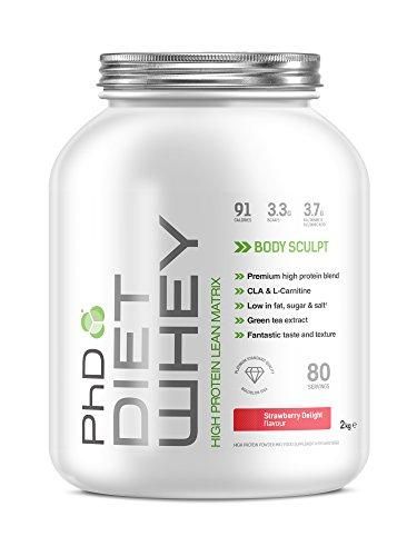 PhD Nutrition Diet Whey Protein Powder, 2 kg £22.99 @ Amazon