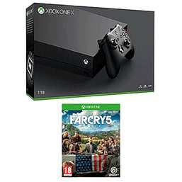 Xbox One X, Far Cry 5, Extra Controller, Halo 5 or GOW:Ultimate Edition £449.99 @ GAME
