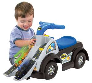 Fisher Price DC Batman Ride On with 2 wheelie cars was £49.99 then £24.99 now £19.99 @ Argos