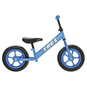 Terrain Dino 12 inch Wheel Blue Balance Bike was £44 now £22 C+C @ Tesco Direct (Pink Star same price)