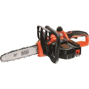 BLACK+DECKER 18 V Lithium-Ion 25 cm Chainsaw £115.99 @ Amazon