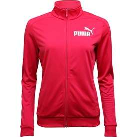 Puma Womens Essentials Poly Track Top Love Potion Colour Berry £14.99 / £19.48 delivered @ M&M direct