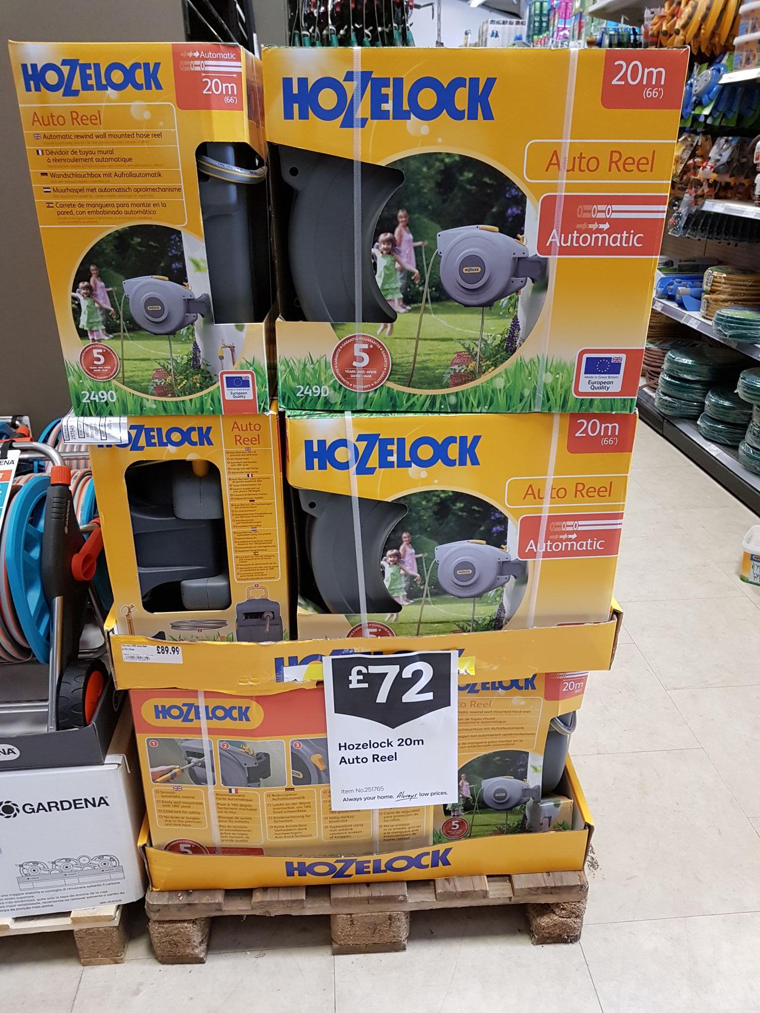 Hozelock Auto Reel £72 @ Homebase instore