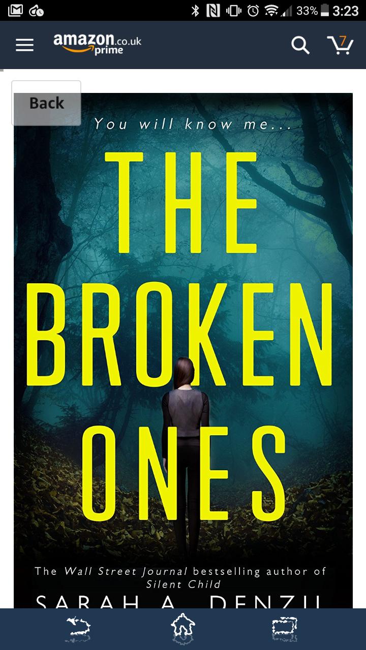 The broken ones Sarah a. Denzil psychological thriller free for kindle users