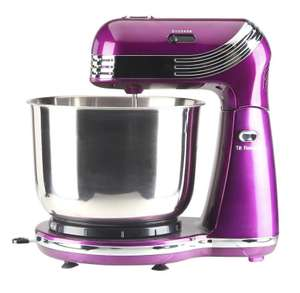 EGL Compact Stand Mixer with chrome beaters and dough hooks (Was £49.99) now £19.98 delivered @ Studio
