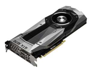 GeForce GTX 1070 and 1080 graphics cards currently available from NVIDIA! £379 and £519 respectively