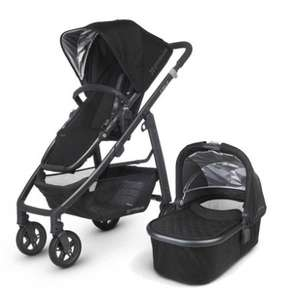 Uppababy CRUZ Pram + Carrycot - Jake Black or Taylor Indigo £404.10 @ Pramworld
