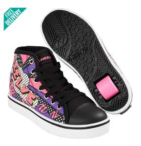 HEELYS VELOZ HIGH TOPS size 7 only £34.99 delivered @ Skatehut