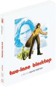 Two-Lane Blacktop (1971) [Masters of Cinema] (LTD Edition Steelbook) [Blu-ray] £6.99 Prime £8.98 Non Prime Sold by bestmediagroup and Fulfilled by Amazonn