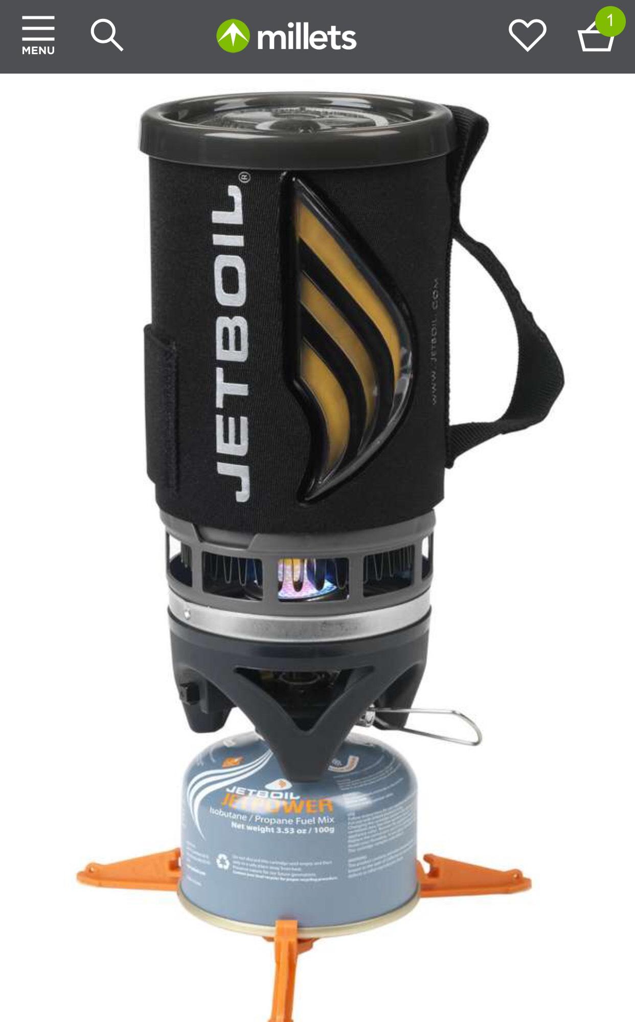 Jetboil Flash £68 @ Millets