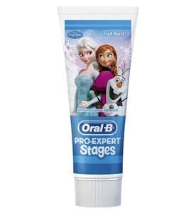 Oral-B Stages Disney Frozen Toothpaste - 75ml 50p @Boots