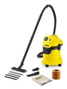 Karcher WD3P wet n dry vacuum £84 @ Travis Perkins