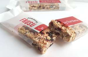 Jordans Frusli Bar - Red Berries (Pack of 24) - Soft, chewy and full of fibre! £3.96 Add On Item @ Amazon