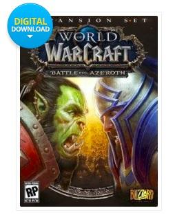 World of Warcraft Battle for Azeroth DLC £28.99 @ CDKeys