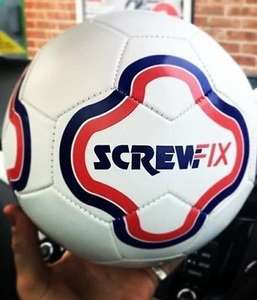 Screwfix FREE FOOTBALL for any orders of £35+