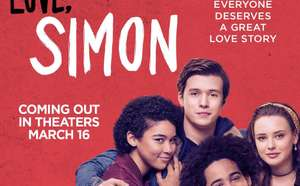 Free Cinema Tickets for Love, Simon - 3rd April