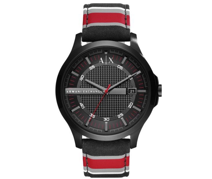 Armani exchange men's watch striped strap £61.99 @ Argos