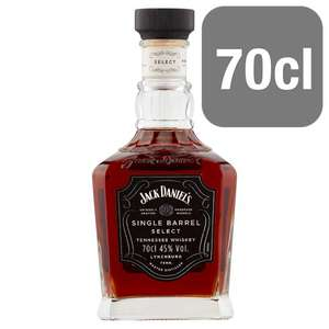 Jack Daniels Single Barrel 70cl £30 @ Tesco or Amazon