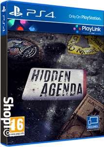 [PS4] Hidden Agenda - £4.85 - Shopto