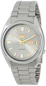 Seiko Men's Analogue Automatic Self-Winding Watch with Stainless Steel Bracelet – SNXS73K  £61.46 @ Amazon