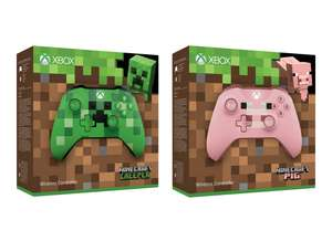 Xbox One Wireless Controller: Minecraft Creeper / Pig for £39.85 @ ShopTo