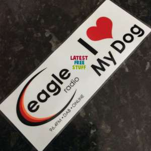 Free Personalised Car Stickers @ Eagle Radio