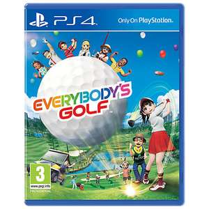 Everybody's Golf £9.99 @ John Lewis (+ £2 c&c / £3.50 delivery)