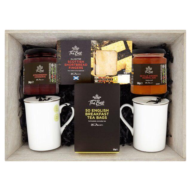 Bargain tea MUG hamper £6 at Morrisons