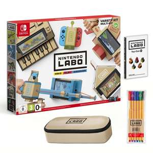 Nintendo Labo Variety with marker set & pencil case £54.99 - Smyths Toys