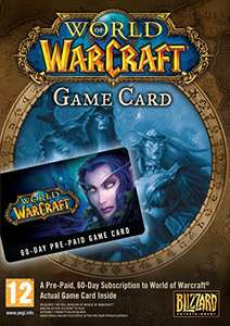 World of Warcraft 60 Day Time Card £15.99  (Prime) / £17.98 (non Prime) @ Amazon