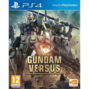 Gundam Versus (PS4) £25.19 From 365games w/ Free Delivery and 1400 Points (Worth £2.40). Use 10% Off Code EASTER at Checkout