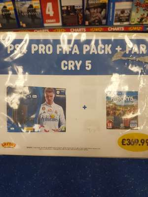 PS4 Pro FIFA bundle with Far Cry 5 - £369.99 at Smyths