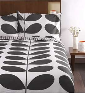 Orla Kiely Sale Flannel Giant Stem Single Duvet in Granite £40 / £45 delivered @ Orla kiely