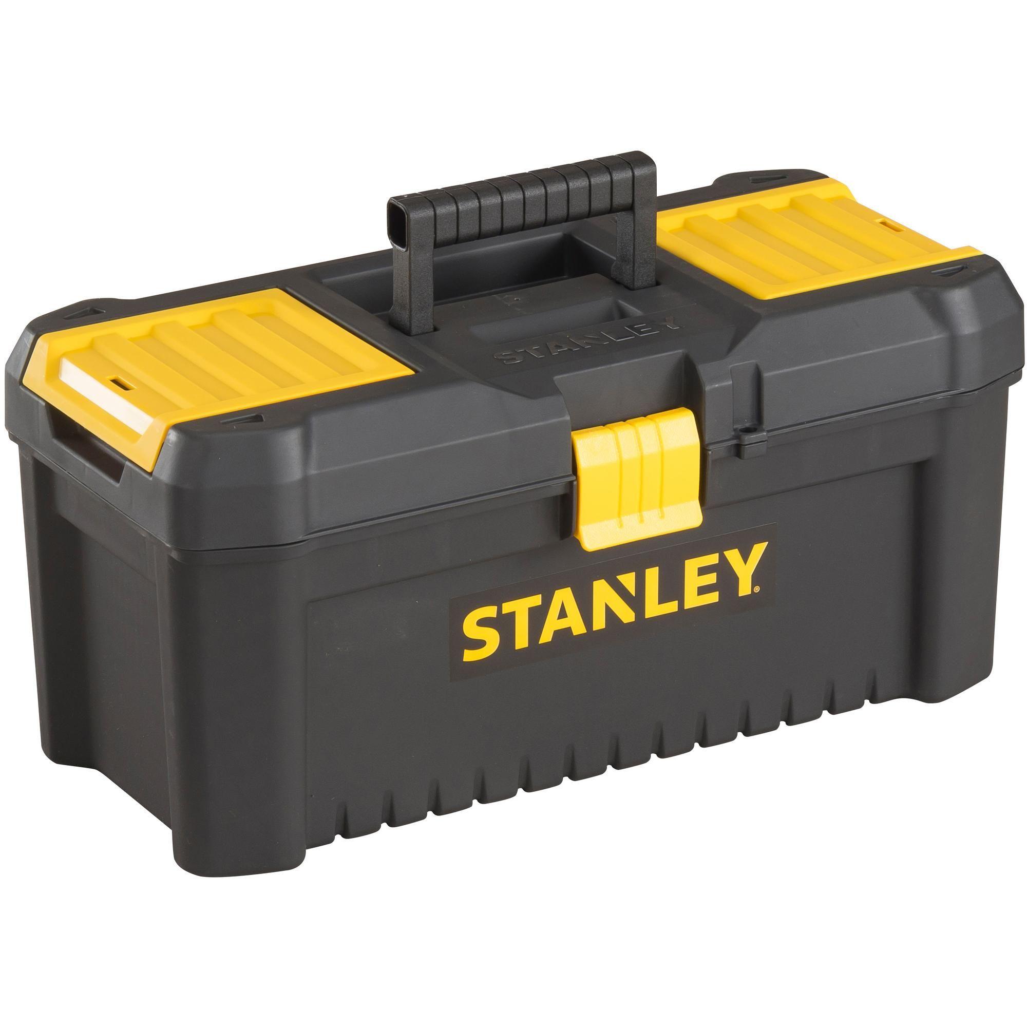 "Stanley 12.5"" Tool Box £4 @ Halfords eBay. Free C&C"