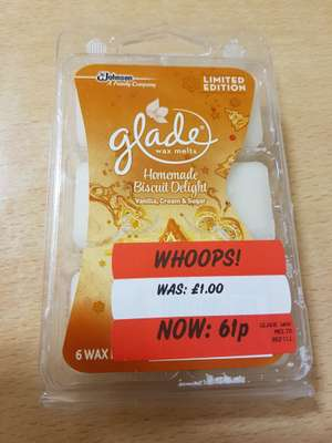 Glade wax melts 61p @ Asda Hunts cross