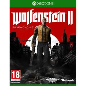 WOLFENSTEIN II THE NEW COLOSSUS xbox one £17.95 @ The game collection