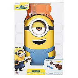 Minions Carry Case and Accessories Stuart £5 / £8 delivered @ Tesco sold the the entertainer