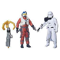 Star Wars The Force Awakens 2 Figure Pack - First Order Snowtrooper Officer & Snap Wexley £9.80 delivered @ Tesco sold by the entertainer