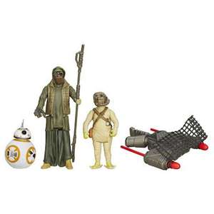 """Star Wars The Force Awakens 3 Figure Pack - BB-8, Unkar's Thug & Jakku Scavenger"" - £9.80 Delivered @ Tesco / Sold by The Entertainer"