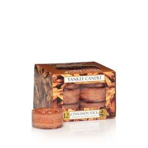Yankee Candle - 'Cinnamon Stick' scented tea light candle £4.20 at Debenhams